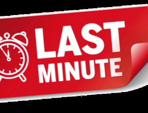 Spettacolo sold out? Tenta l'acquisto LAST MINUTE alle ore 18.00!